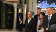 Michael Bloomberg and Belgian Government Have Focused on Climate Related Financial Risks in Opening Bell Ceremony at Euronext Brussels